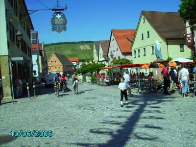 Markelheim Marktplatz