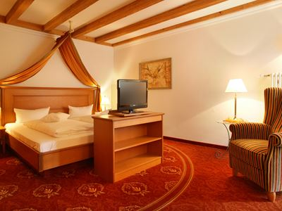 Suite Tanne Schlafzimmer
