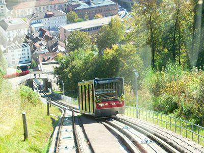 Bergbahn u. Stadt