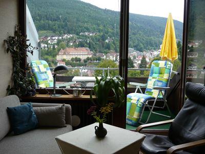 App.1 - Wohnzimmer und Balkon