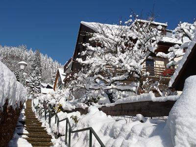 Haus Mariann im Winter
